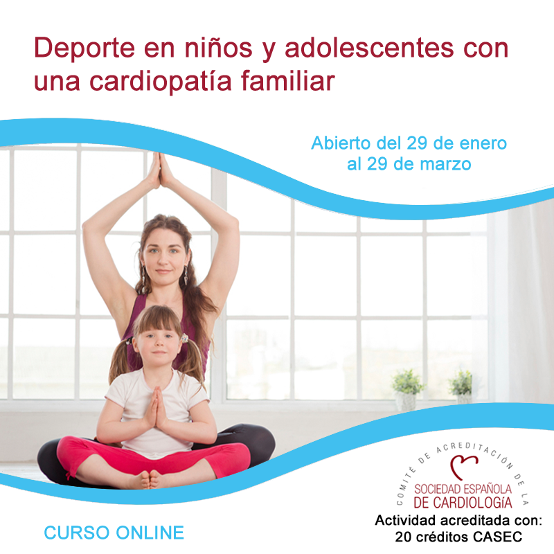 Deporte con una cardiopatía familiar y/o portadores de dispositivos implantables