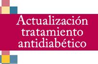 Actualización tratamiento antidiabético