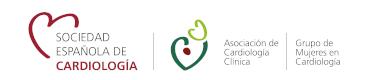 Logo Grupo de Trabajo Mujeres en Cardiologia
