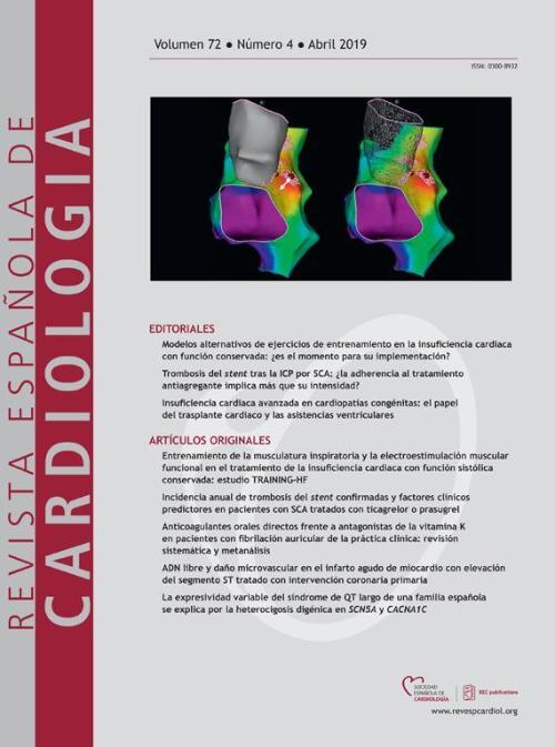2e4dc7320 Sociedad Española de Cardiología  profesionales sanitarios y ...