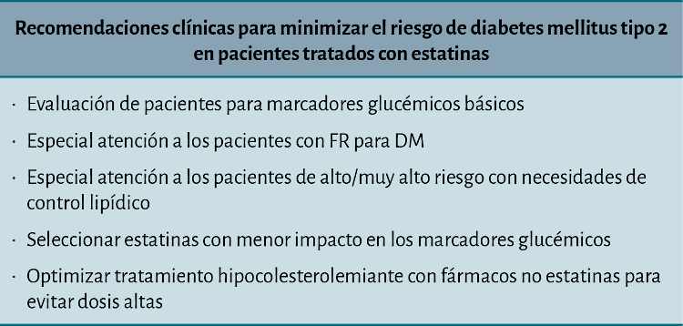 guía de diabetes estatina
