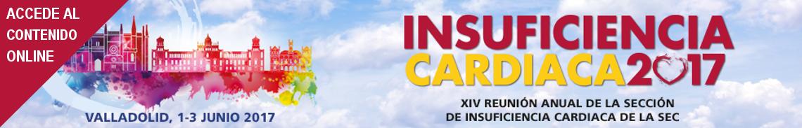 Banner XIV Reunión Anual de la sección de Insuficiencia Cardiaca de la SEC 2017